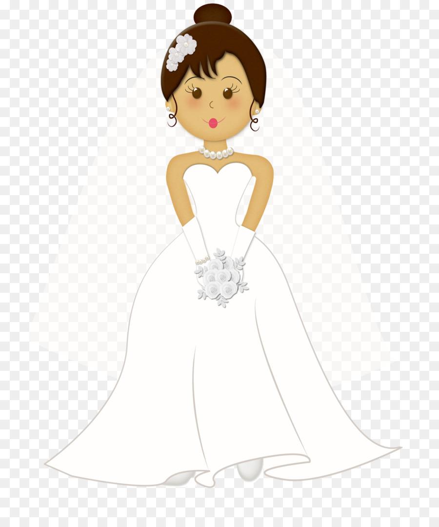 Wedding invitation Bride Marriage Clip art - cartoon bride