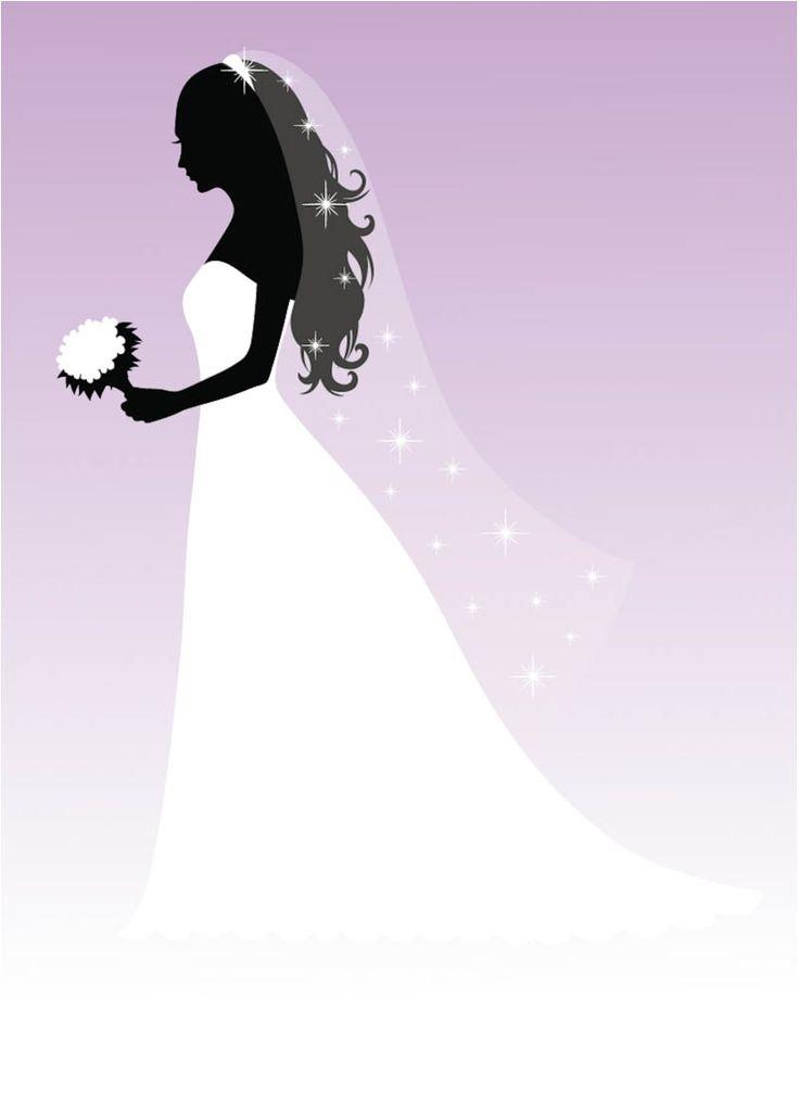 bride silhouette free graphic - Google Search