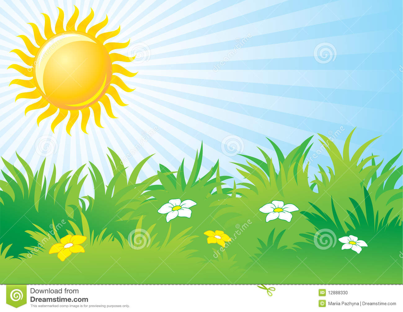 Bright Sunny Day Clipart