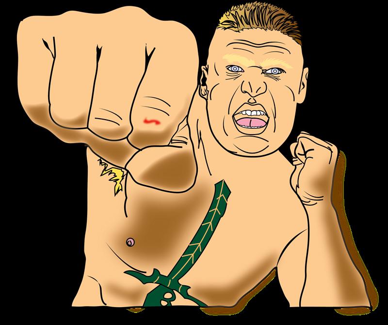 Brock Lesnar Clipart-Clipartlook.com-800