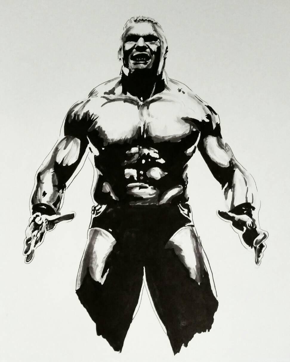 Clipart Brock Lesnar. Download