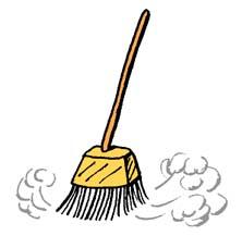 222x217 Broom Clipart