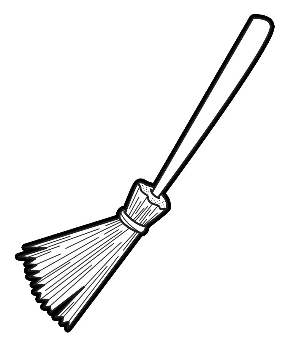 Broom Clipart #6085