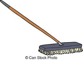 . hdclipartall.com Cartoon Push Broom - Isolated cartoon push broom over white.