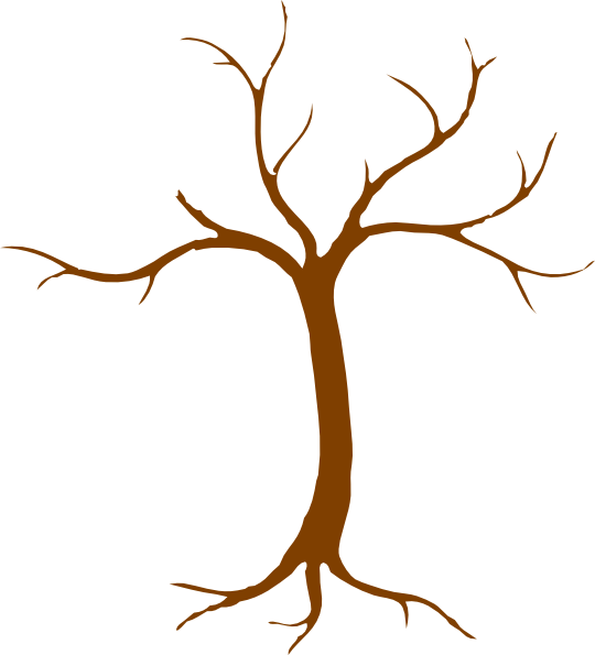 Brown Bare Tree Clipart Clipart Panda Free Clipart Images