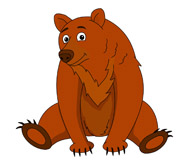 Brown Bear Clipart Size: 75 Kb