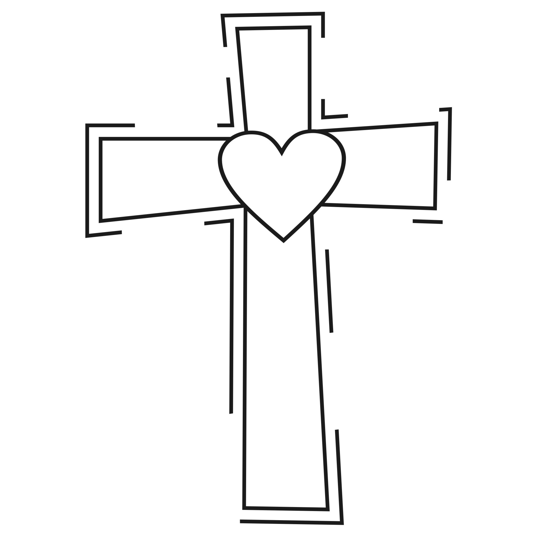 Brown cross clip art free clipart image