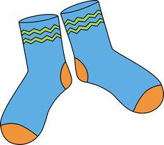 Brown Pair of Socks