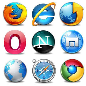 Browsers Clipart