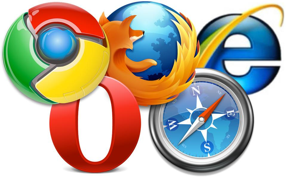 Browsers Clipart homepage