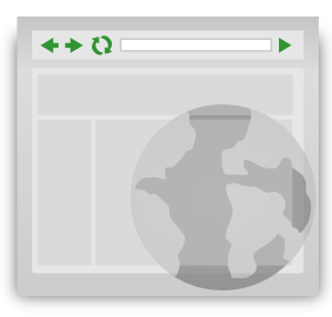 Homepage Browser Icon Clip Art