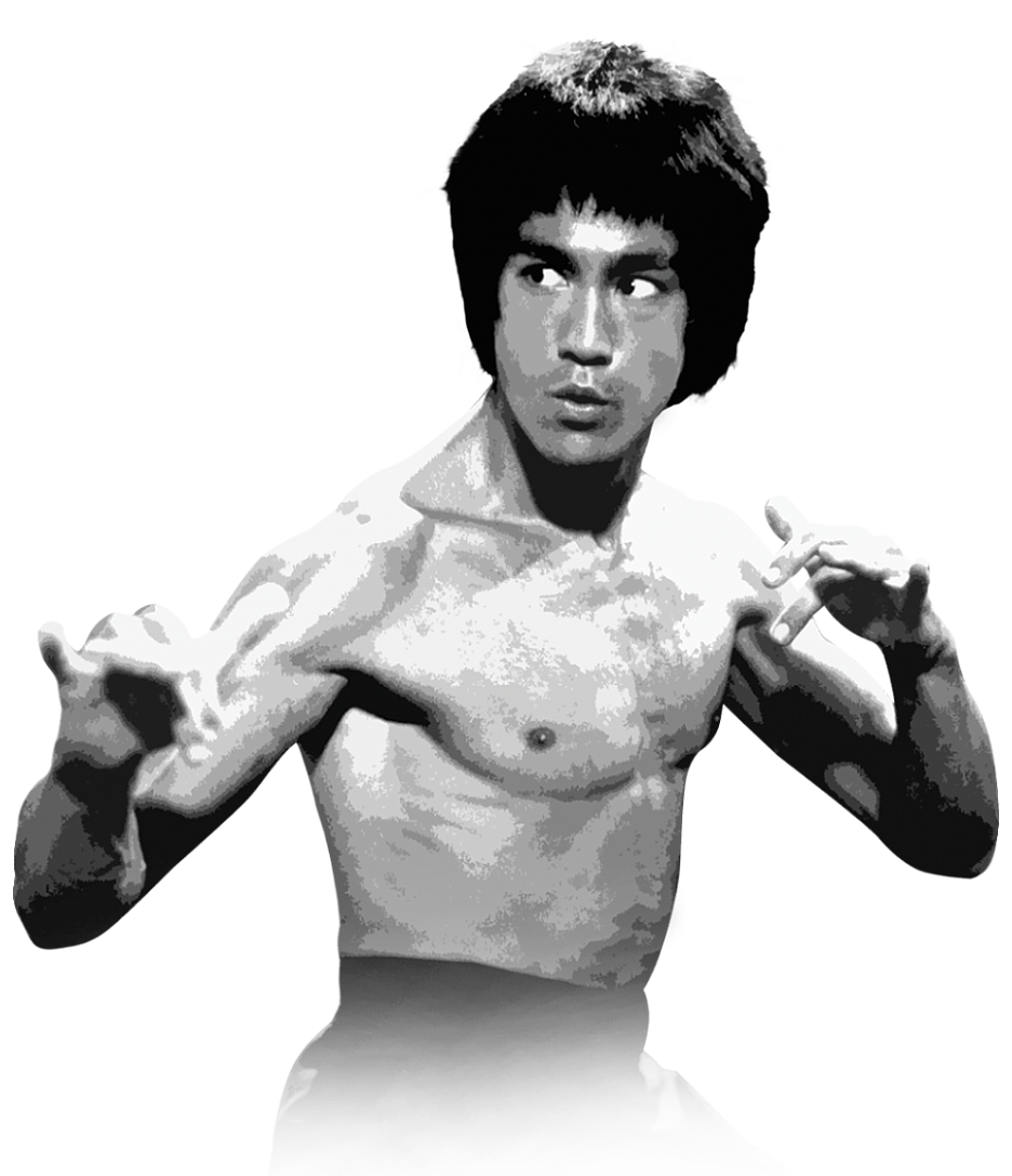 Best free Bruce Lee Icon Clipart