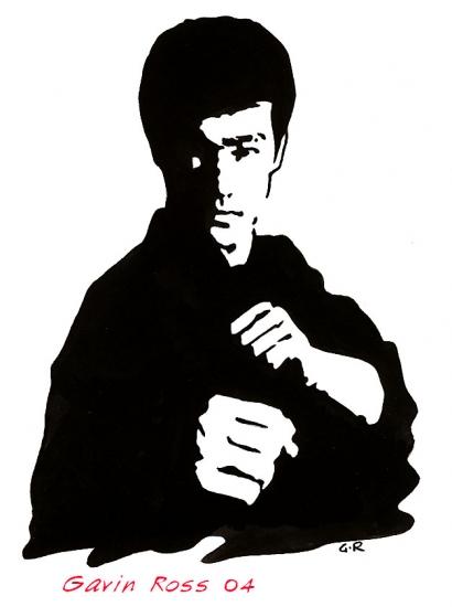 Bruce Lee by dwornboy