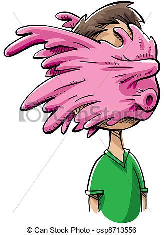 ... Bubblegum Splat - A cartoon person with an exploded.