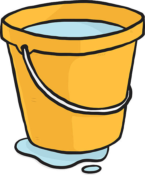 505x612 Yellow clipart pail