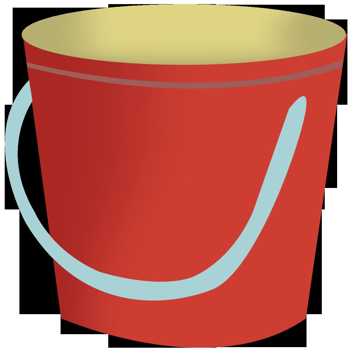 bucket clipart 4