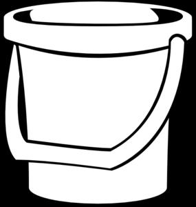 Empty Bucket Clipart #1