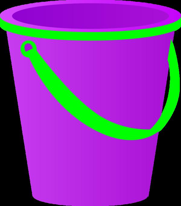 Sand clipart beach bucket #10