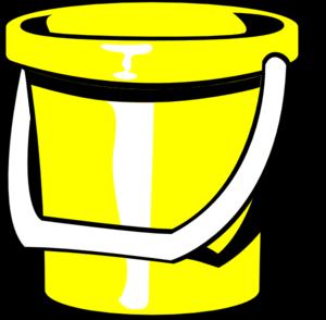 Yellow Bucket Clip Art