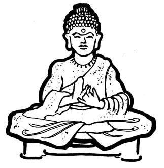 323x330 Nice Buddha Clipart Free