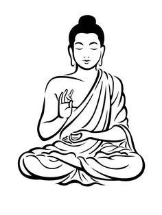 gautam buddha clipart 3