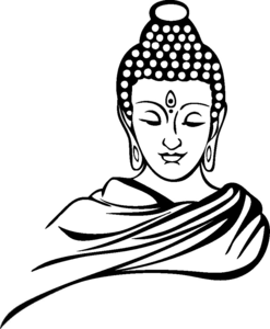 Gautam Buddha Clipart Image