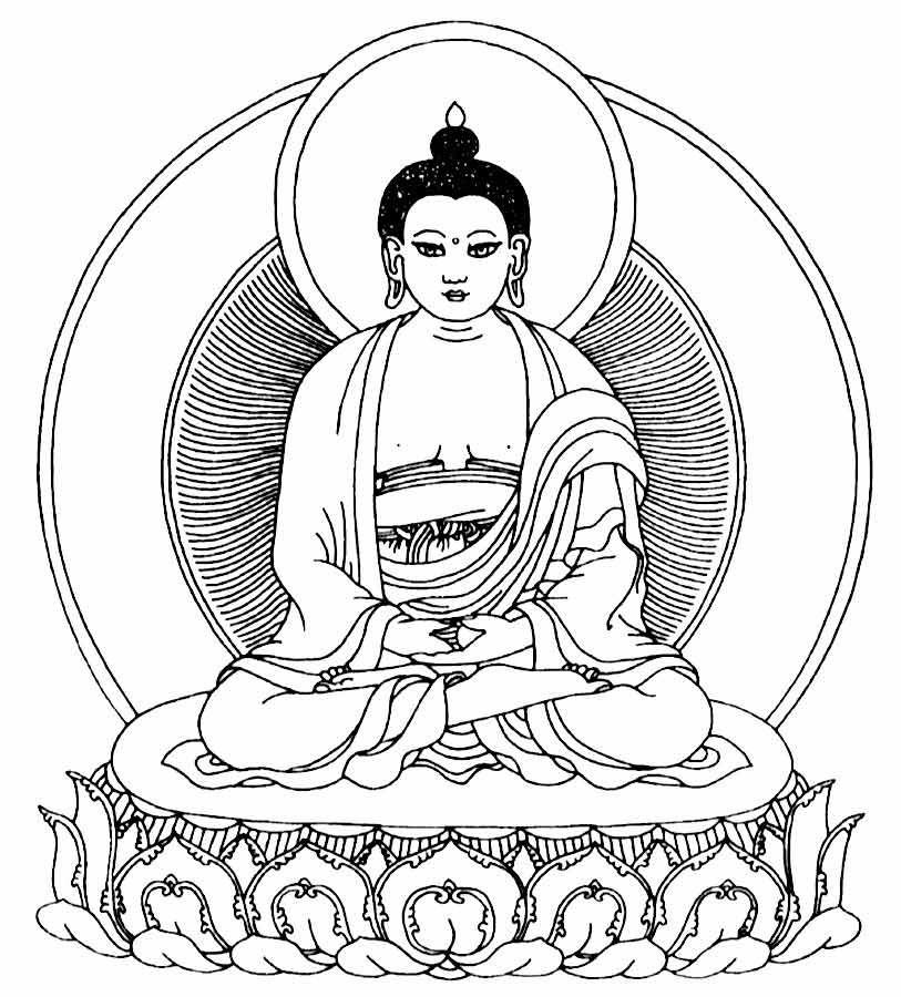 buddha stencil | Symbols for Buddhism - Free and Printable Buddhist Symbols
