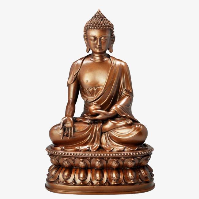 buddhist pharmacist buddha, Buddhism, Copper, Buddha Statue PNG Image and  Clipart