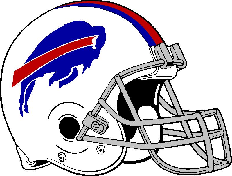Buffalo Bills helmet 2011-present by Chenglor55 ClipartLook.com