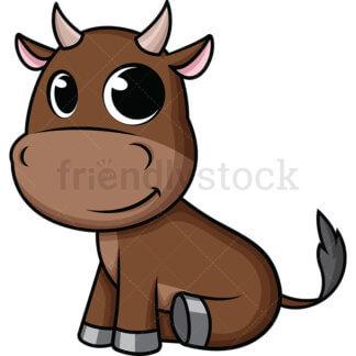 Cute Baby Ox