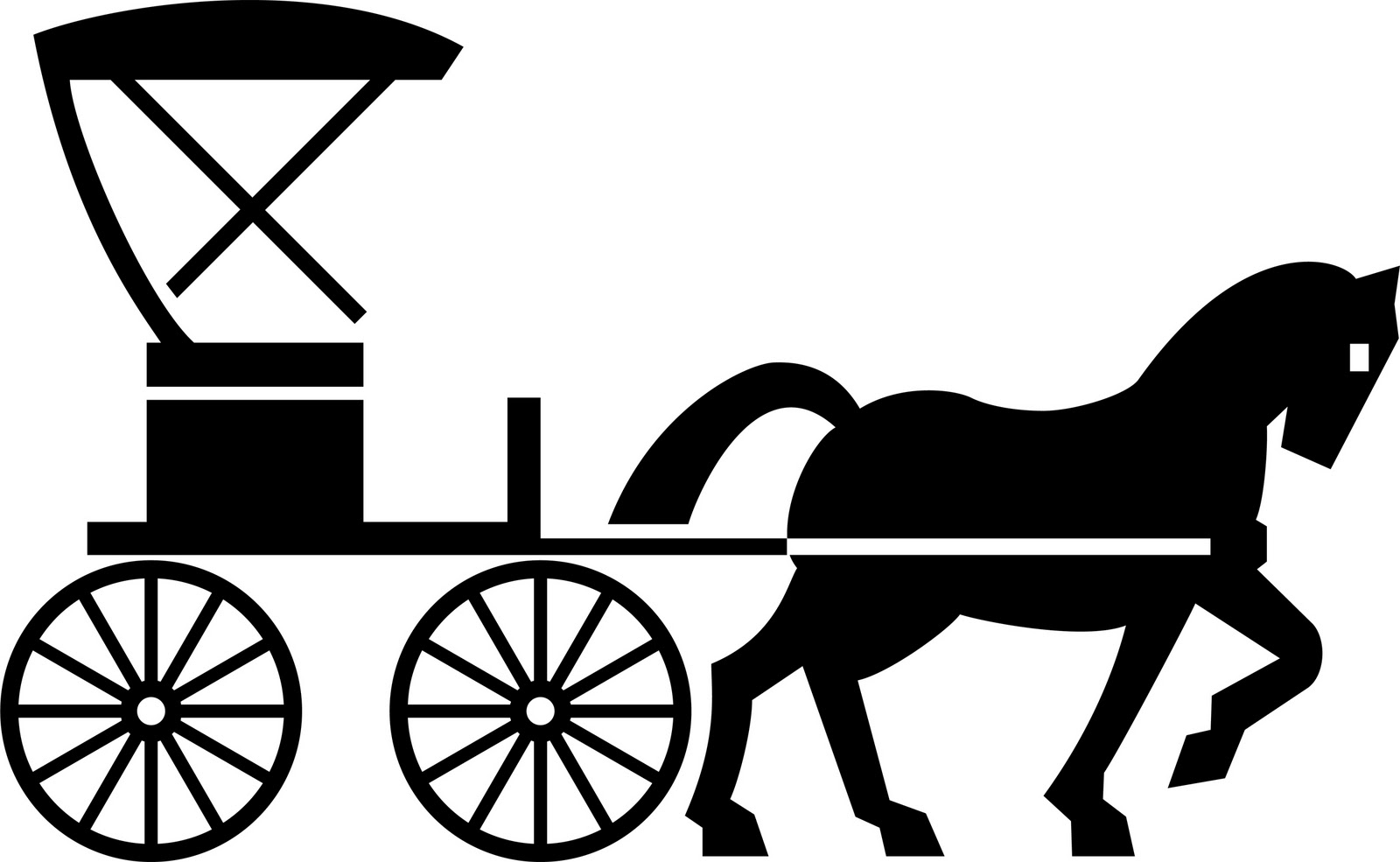 Buggy Clipart Clipart Panda . Horse Buggy. Truth is stranger .