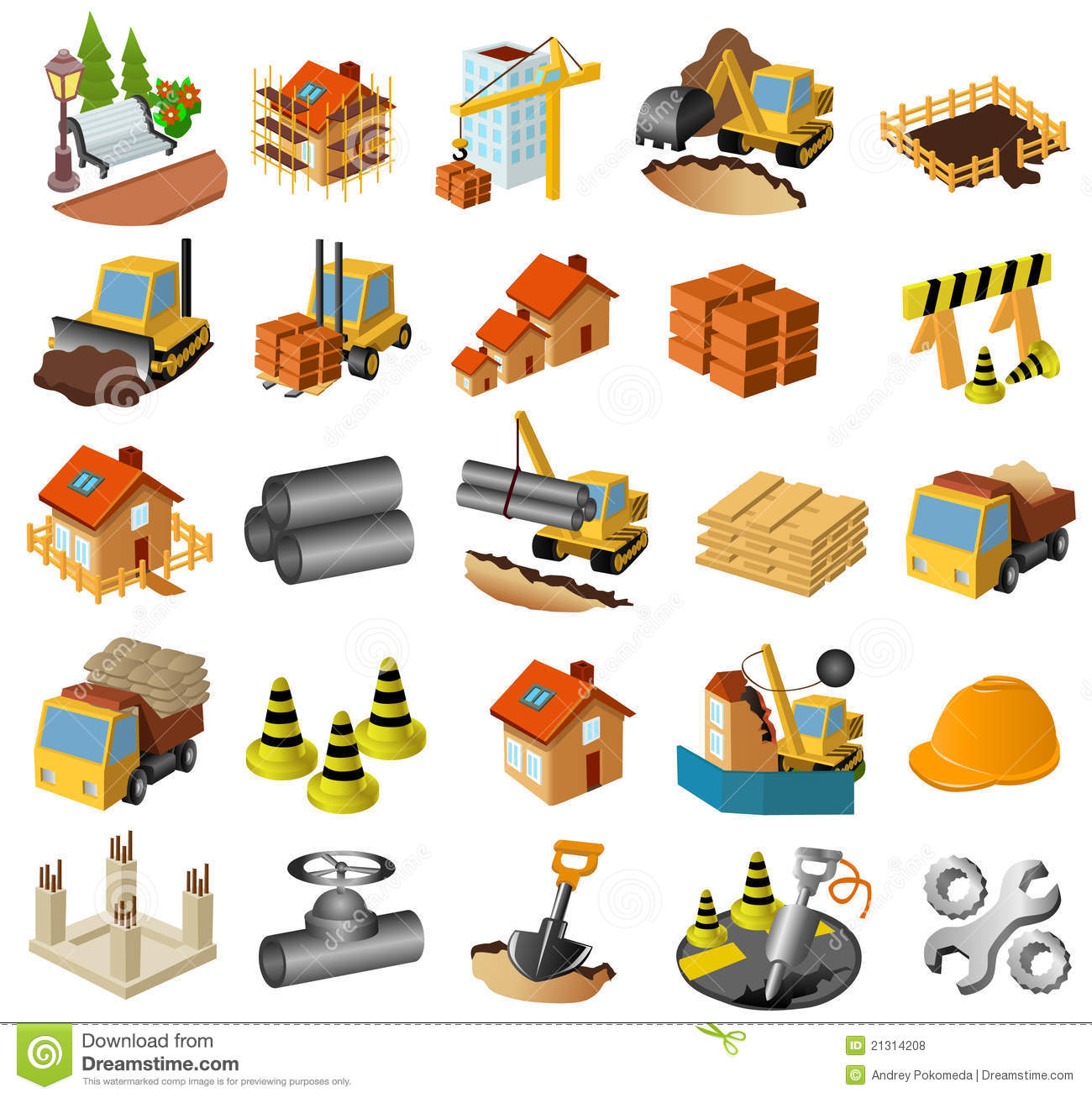 building construction clipart