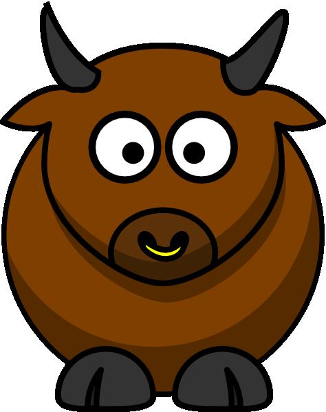 Bull Clip Art At Clker Com Vector Clip Art Online Royalty Free