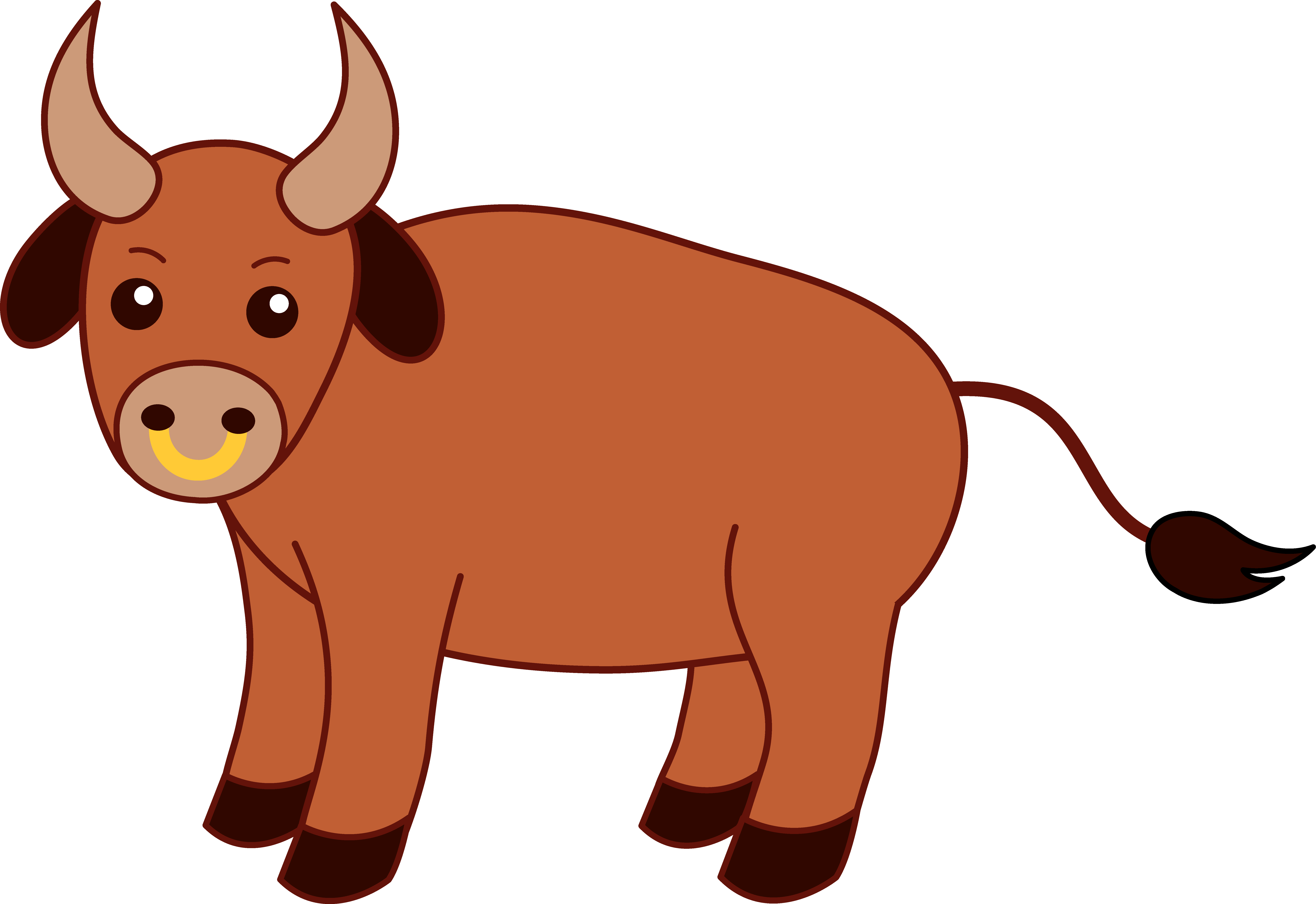 Bull Clip   Free Download Clip Art   Free Clip Art   on Clipart .