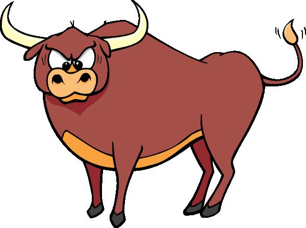 Cool Bull Clipart #1