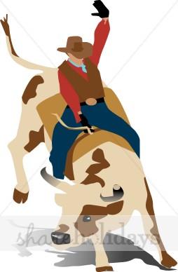 Bull Rider Clipart