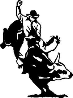 bull riding drawings - Google Search