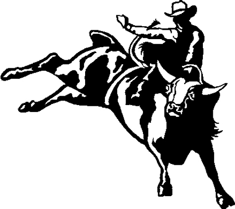 Bull Riding Free Cliparts That You Can Download To You Computer