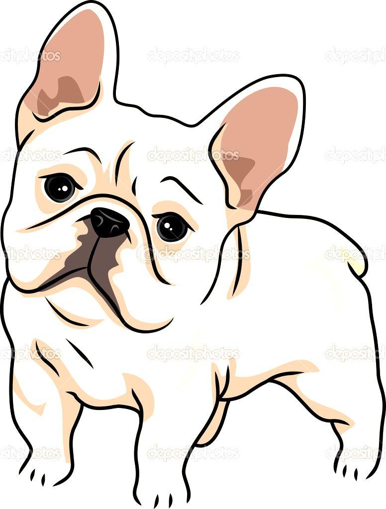 FRENCH BULLDOG CLIPART French Bulldog Stock Photo