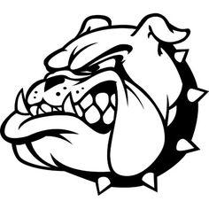High School Mascots, Bulldog Mascot, Bulldog Pics, Car Decals, Vinyl Decals,