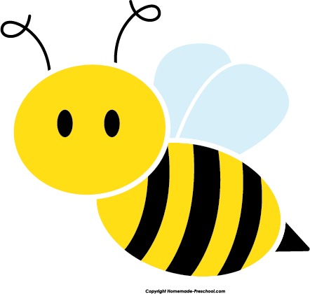 442x420 Bumble bee cute bee c - Bumble Bee Clipart