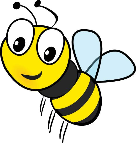 570x596 Bee clip art for teachers free clipart images