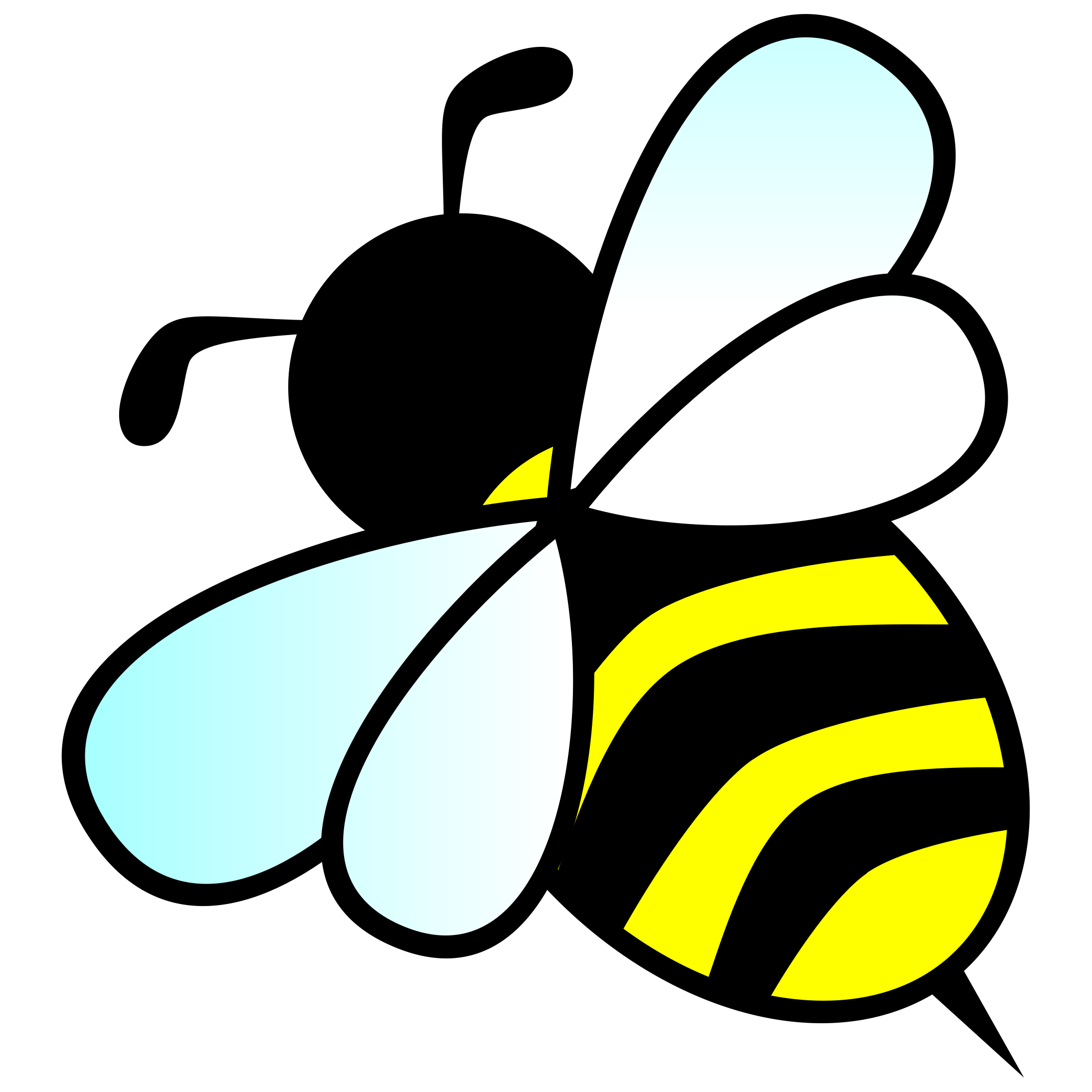Bumble Bee Clip Art #40566