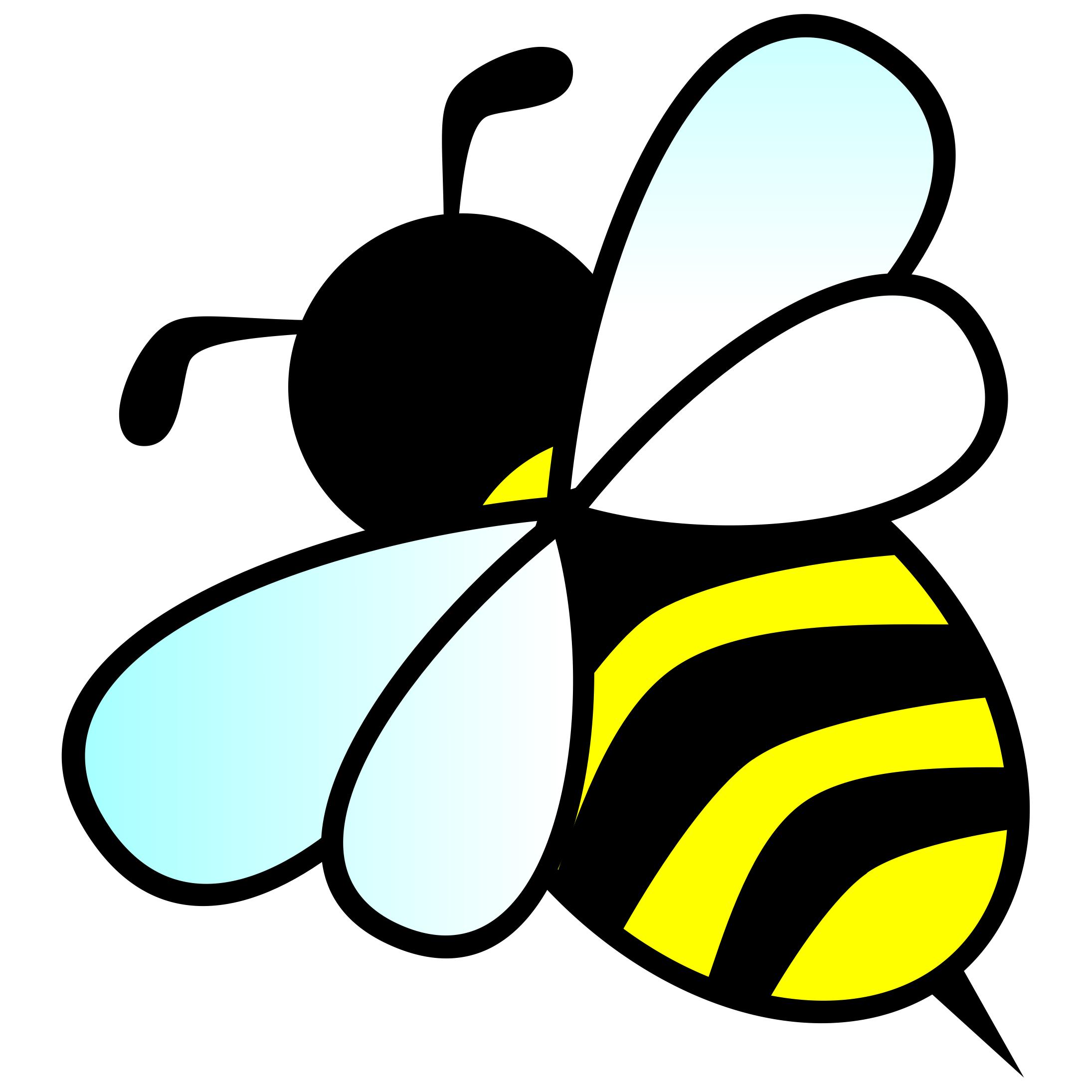 Bumble Bee Clip Art #40566 - Bumble Bee Clipart
