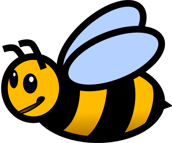 Bumble bee clip art animals clipart 3