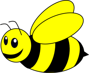 Bumble Bee Yellow Clip Art - Bumble Bee Clipart