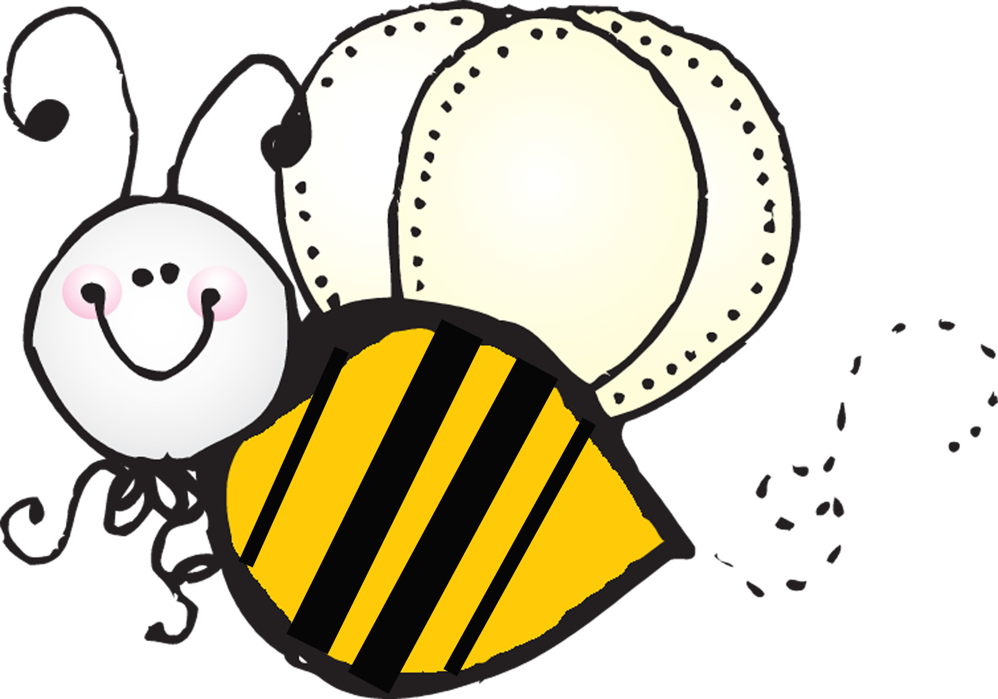 Bumble bee vector bee clipart .