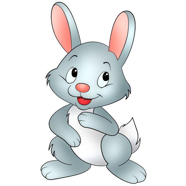 Bunny cartoon clipart