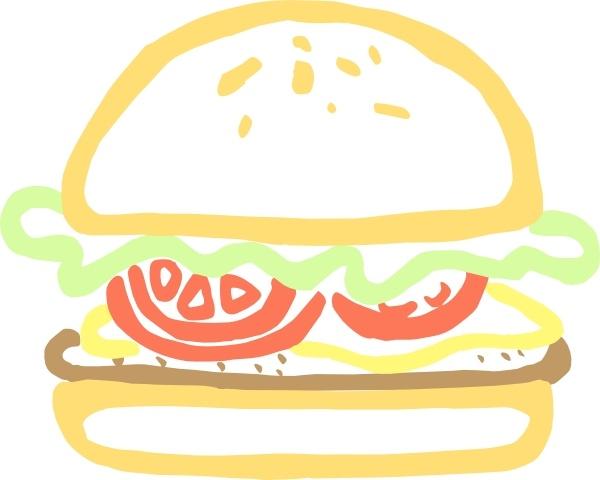 Burger clip art