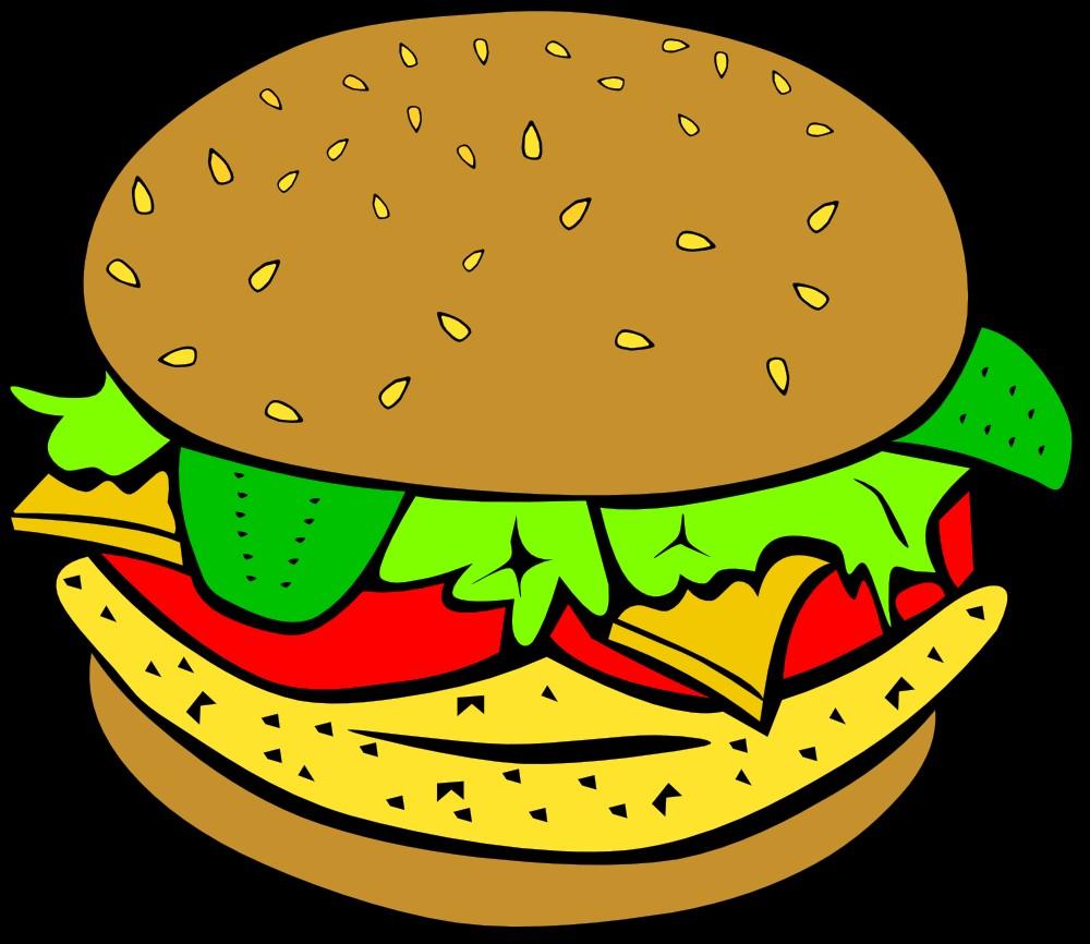 Burger Clipart Clipart